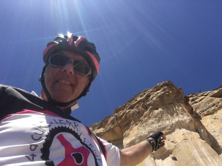 Al In Front Of Rock Formation 2