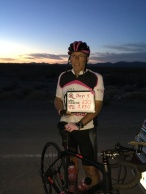 Dawn on the fourth day of Pink Pedals 4 A Cure | Terry's Ride 2018. #RollAlRoll