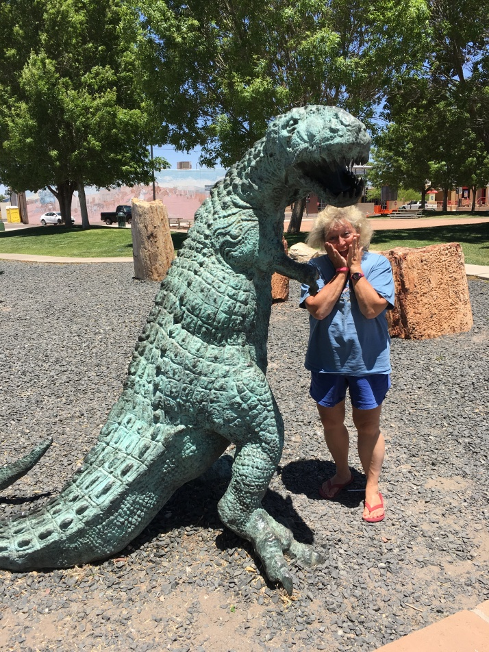 Terry w Dinosaur