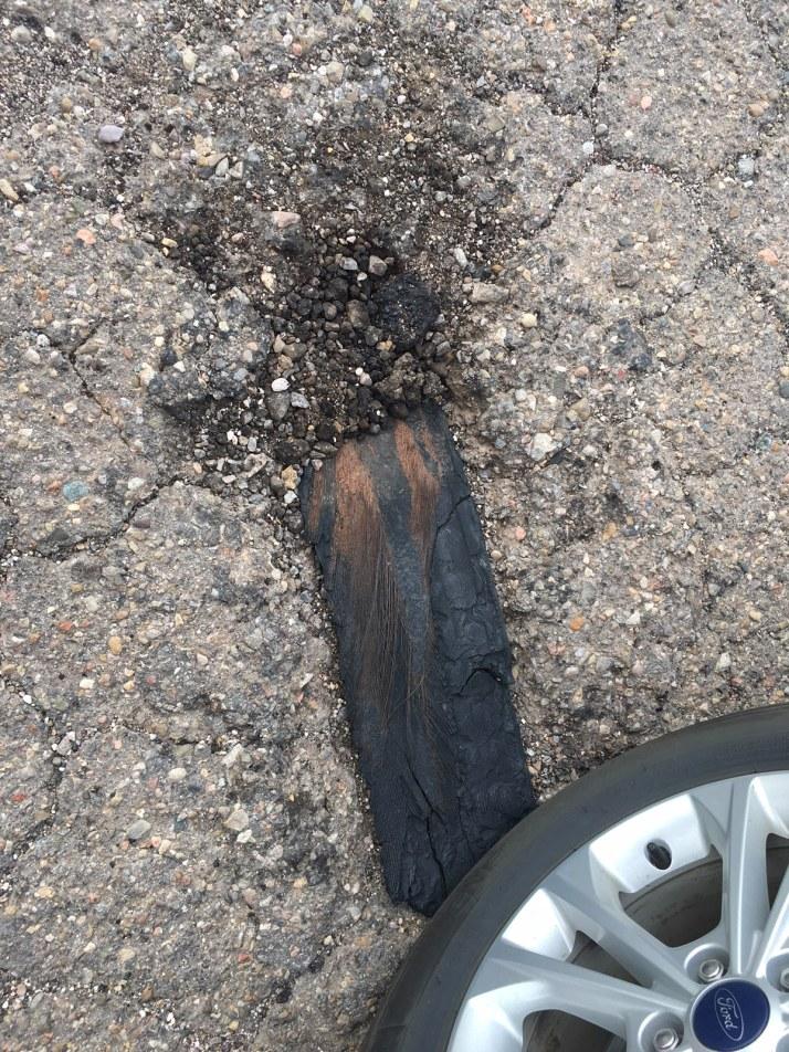 Wood Pothole Filler